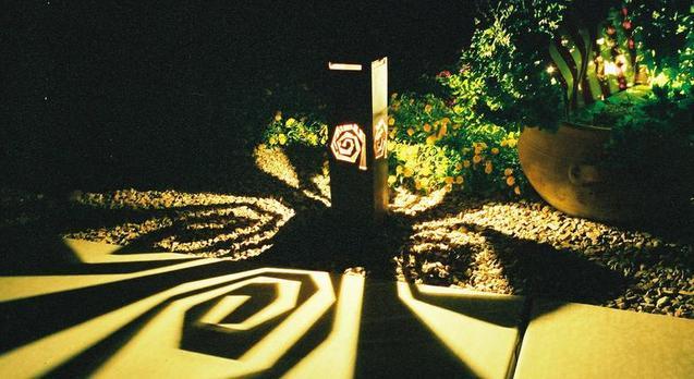 Outdoor Metal Artwork Outdoor Metal Art Lighting & Metal Garden Art