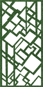 Our Steel Trellis can be used to enhance the beauty of your garden space, provide an artistic privacy screen, wall art, room or patio divider, gate insert, fence panel, guard rail or hand rail insert or as standalone art piece for entry ways and lobby areas.